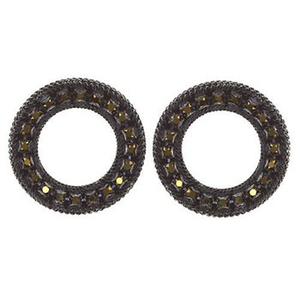 Black Rock N Glam Stud Earrings
