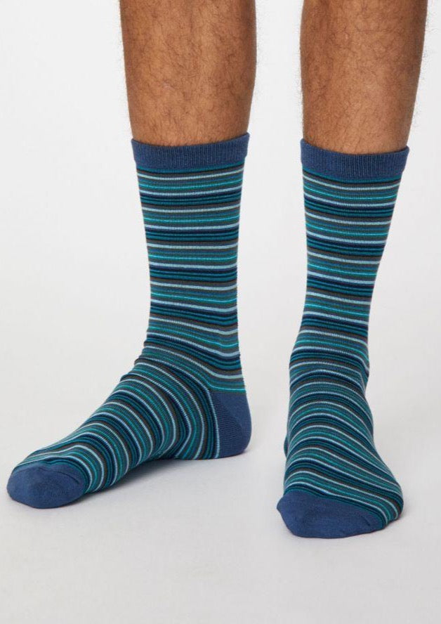 Sustainable and Ethical Michele Bamboo Socks by Thought. Mens