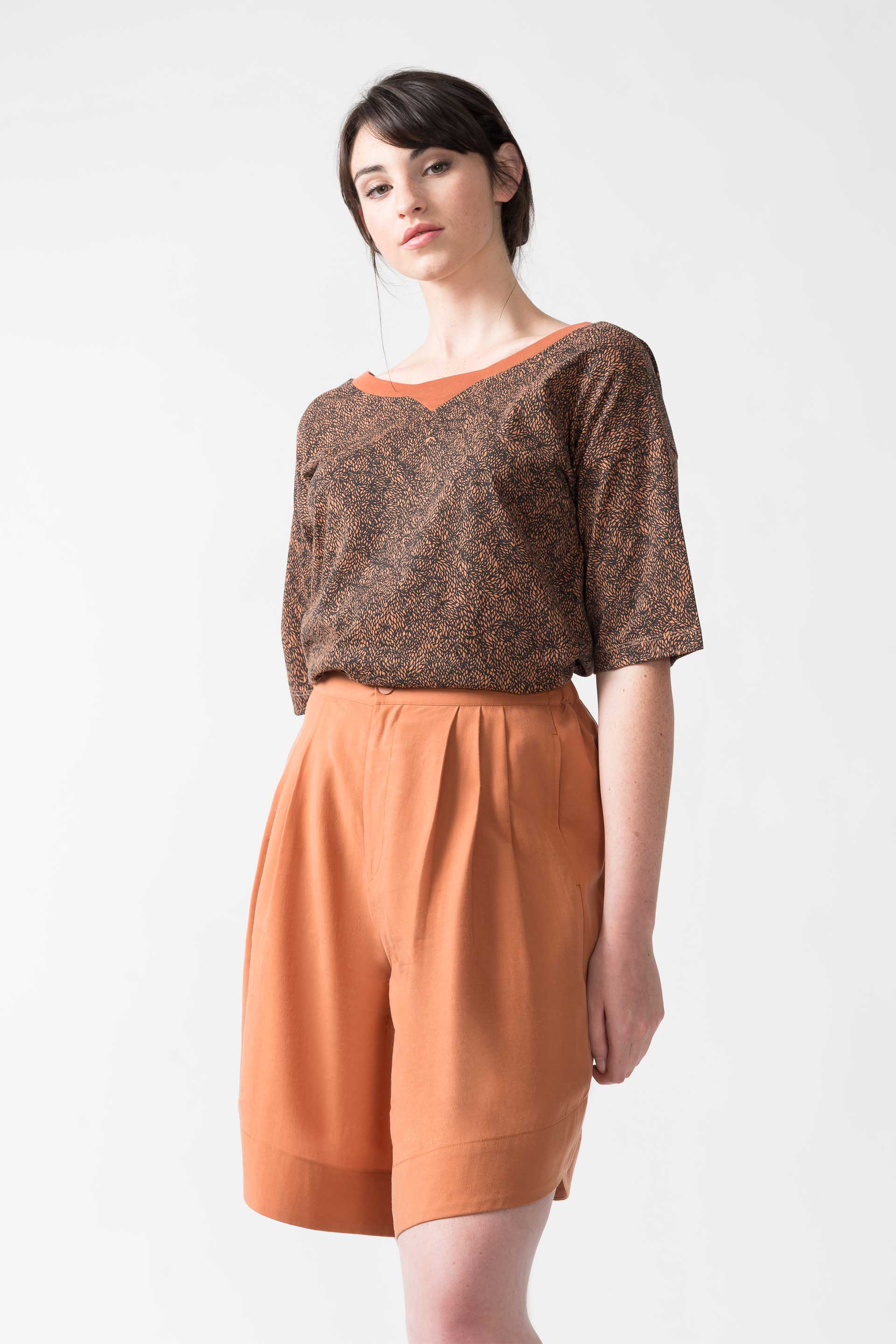 Terracotta Printed Recycled T-Shirt