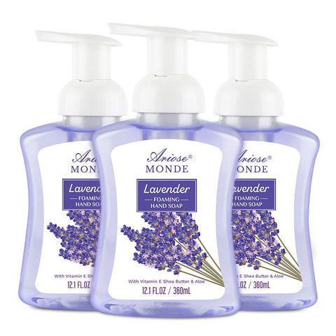 Ariosemonde Liquid Foaming Hand Wash with Elegantly Lavender Scent - ariosemondegift
