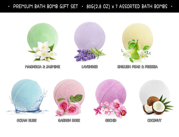 BATH BOMBS GIFT SET 2 PACK - ariosemondegift
