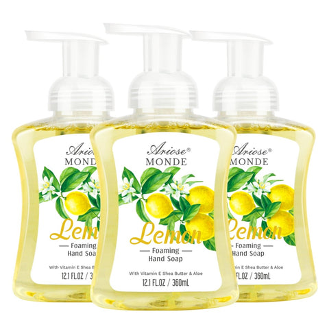 LEMON FOAMING SEENT HAND WASH ELEGANTLYL - ariosemondegift