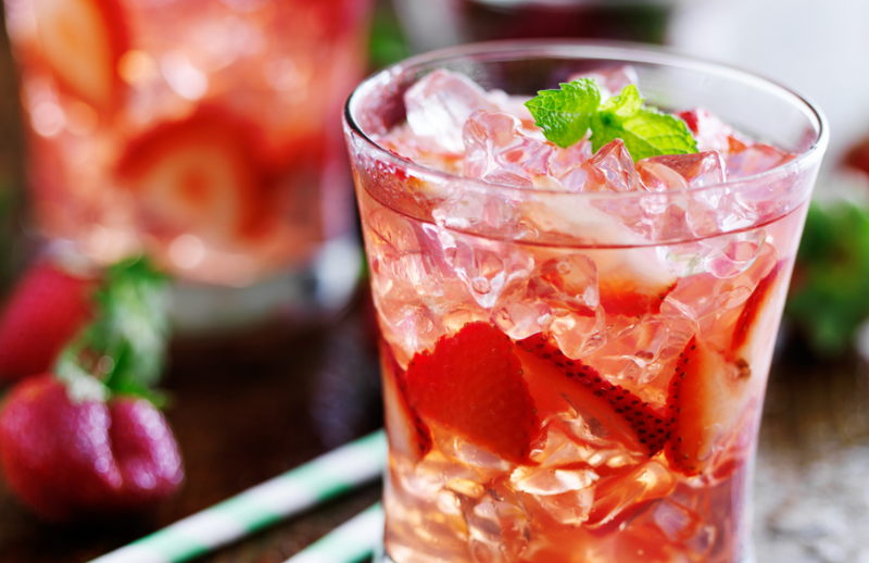 Recipe: Rose Spritzer