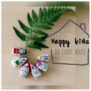 Porcelain little house- Happy Kids Collection