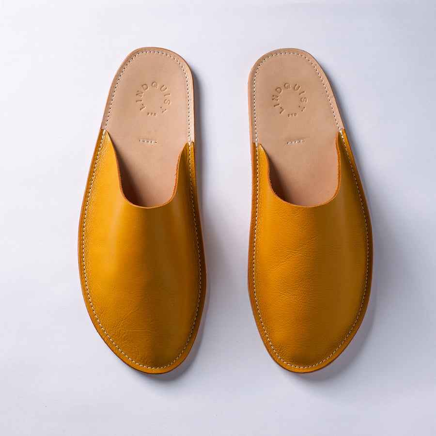 House Shoes in Yellow