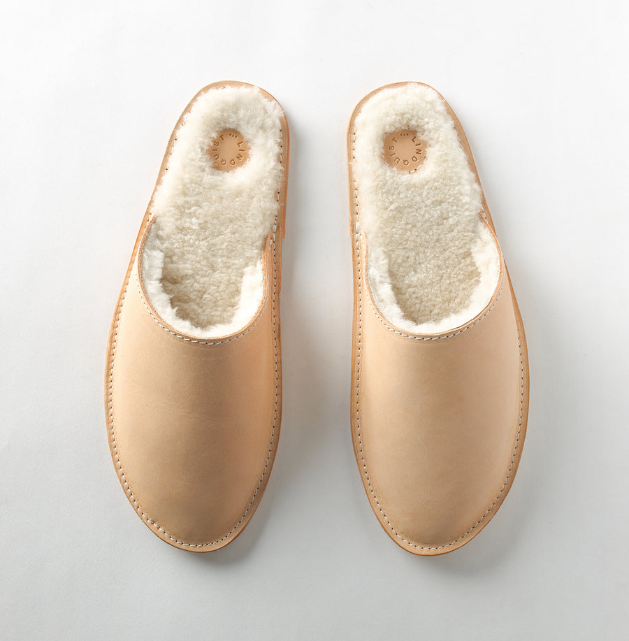 Louil House Shoe in Natural