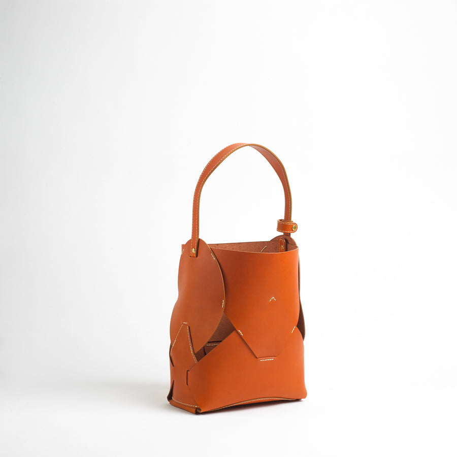 Form Bag in Honey Vachetta