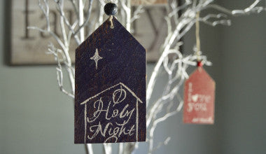 O Holy Night Gift Tag Ornament