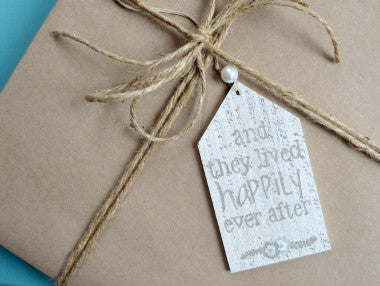 Happily Ever After Gift Tag