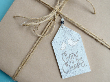 Goin' to the Chapel Gift Tag