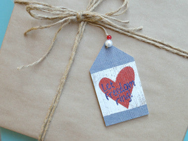 Let Freedom Ring Gift Tag