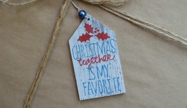 Christmas Together Gift Tag Ornament