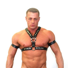 Load image into Gallery viewer, Accesorio Gay Gaybarcelona | Arnés cuero | Y2K Half Harness