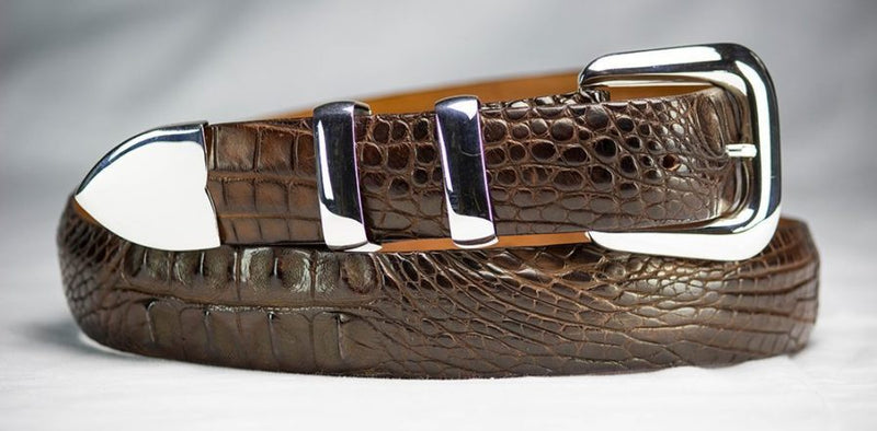 Hornback Alligator Belt Strap