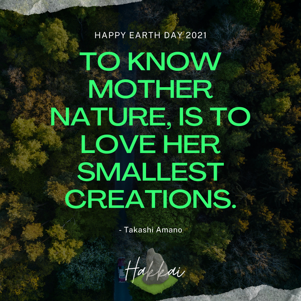 Happy Earth Day 2021 From Hakkai Aquascape Design Gallery