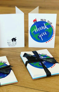 Miles to Go - Thank You Cards - (Pack of 10)