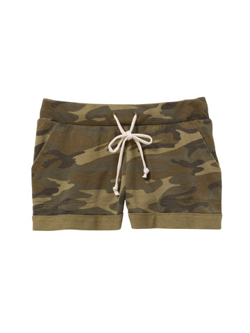 Burnout French Terry Camouflage Shorts