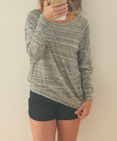 MTG Basics - Women's Slouchy Long Sleeve Top