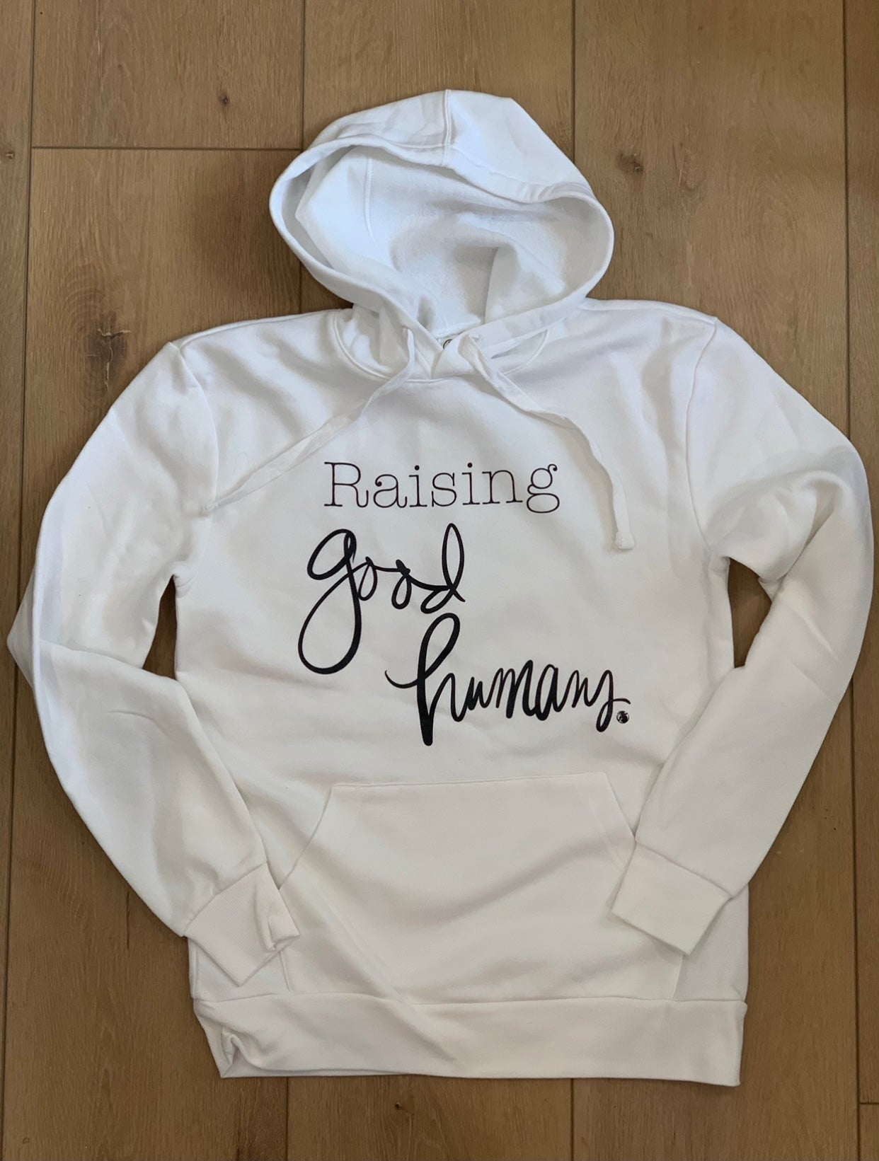 Raising Good Humans unisex hoodie