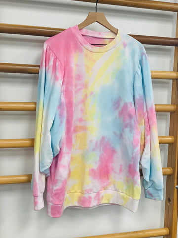 Poof Sleeve Hand Tie Dyed Women's Set