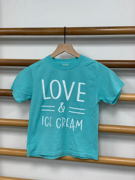 Love & Ice Cream - Youth Unisex T-Shirt