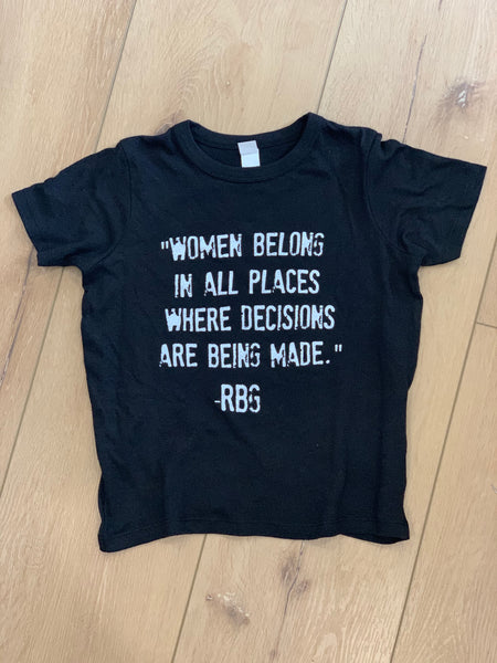 Women Belong - RGB - Unisex Youth T-Shirt