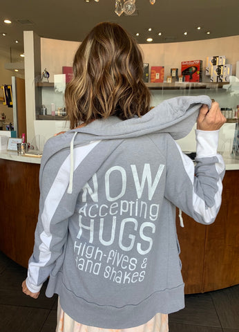 NOW Accepting HUGS....unisex hoodie
