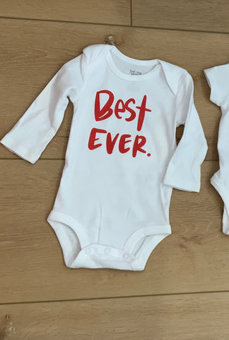 Best Ever Christmas Pajamas - Onesie Long Sleeve
