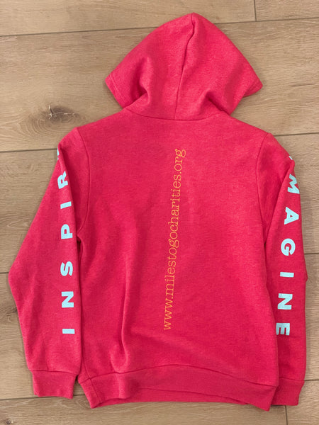 IMAGINE BELIEVE INSPIRE youth pullover hoodie