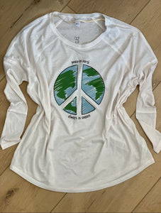 Peace on Earth long sleeve