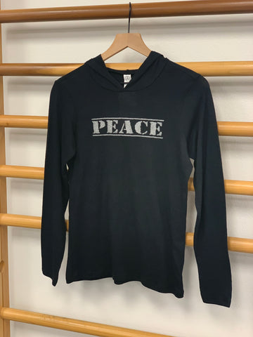 Peace youth lightweight hoodie