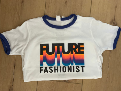 Future Fashionist - Youth T-Shirt (blue ringer)