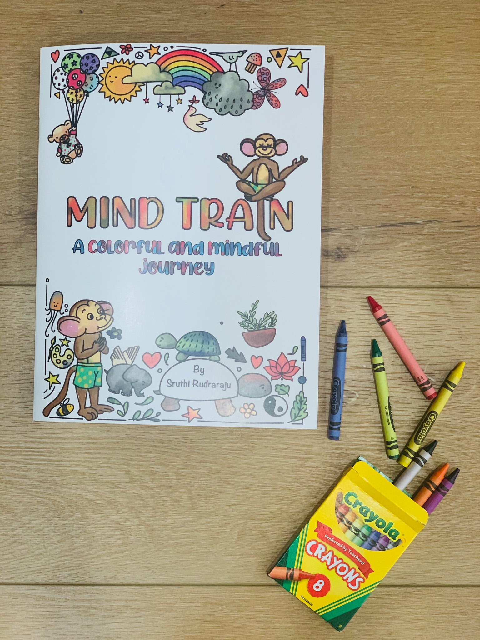 Mind Train coloring book