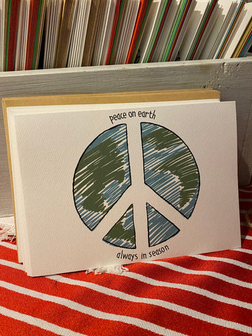 Peace on Earth Holiday Cards (Pack of 10)