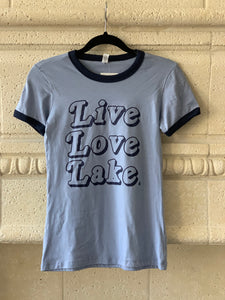 Live Love Lake - Women's T-Shirt
