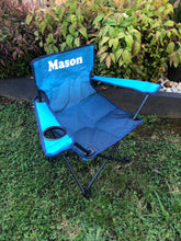 Load image into Gallery viewer, Kids Personalised Camp Chair- Ombré