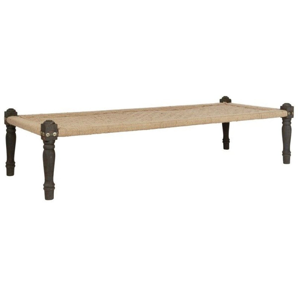 Daybed Akazienholz/Jute
