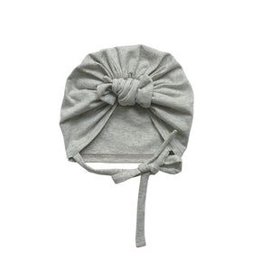 "Open image in slideshow, Turban ""Joseph"" Light Grey"