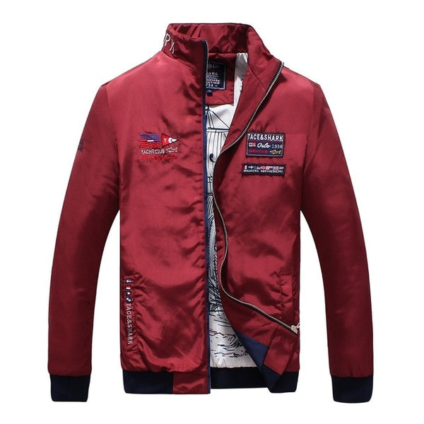 Brand Casual Men Jackets And Coat Thin Military Tace Shark jacket