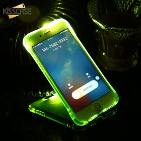 LED Light Case For iPhone 11 Pro XR XS MAX 5 5S SE 6 6S 7 8 Shockproof