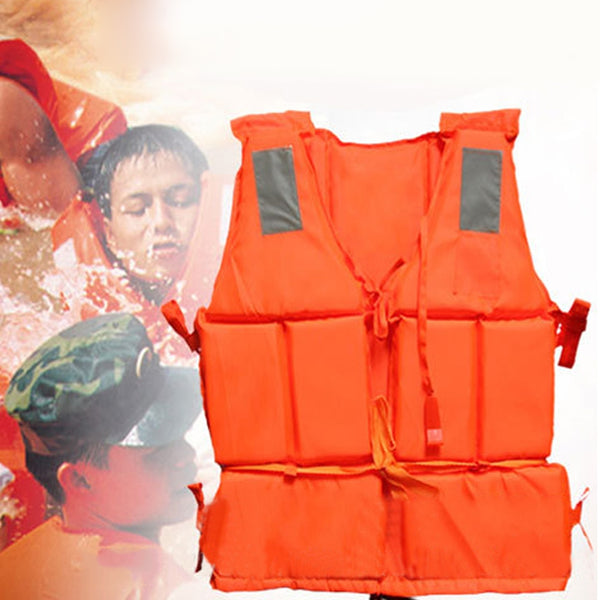 1Pcs Professional Safety Swimming Life Jacket Vest Foam Colete Salva-vidas With SOS Whistle For Water Sports