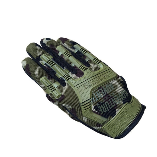 Men Military Tactical Gloves Full Finger Combat Gloves Anti-slip