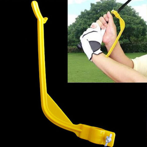 Golf Swinging Swing Training Aid Tool Trainer Wrist Control Gesture Alignment