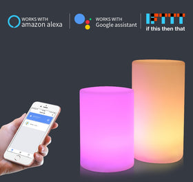 LED USB Charging Smart Night Light Alexa Echo Google Home Dimmable RGB Color Change