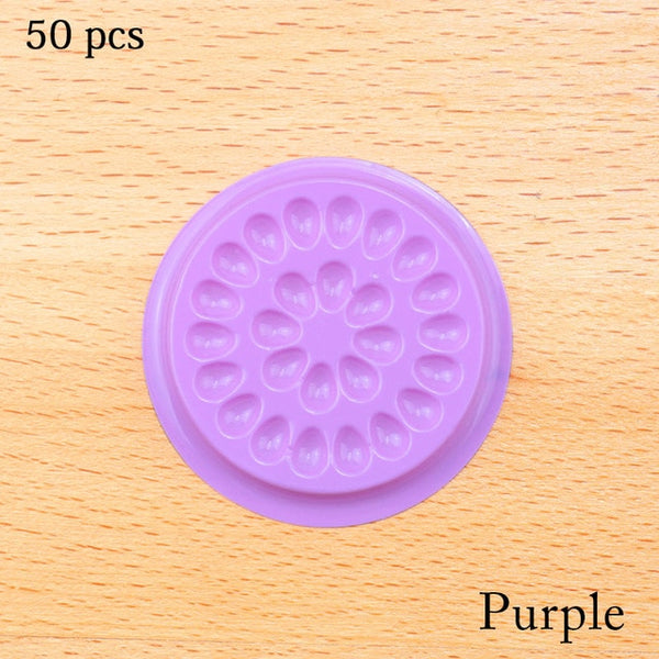 Wholesale Glue Gasket Eyelash glue holder Adhesive Pallet Eyelash Extension Glue Pads