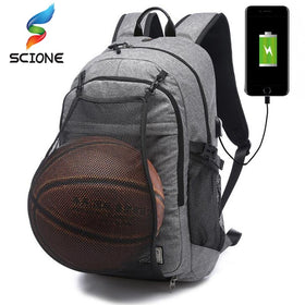 Outdoor Men's Sports Gym Basketball School Backpack