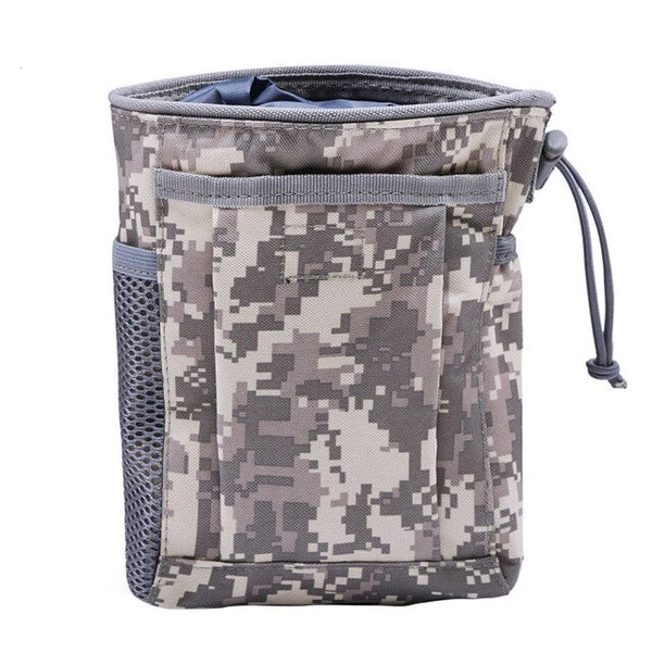 CQC Tactical Molle Folding Dump Pouch Drop Magazine Airsoft Paintball Military Outdoor Hunting Tool Foldable Recovery