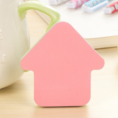 Creative Post Colour Self Stick Notes Self-adhesive Sticky 100 Sheets/pad