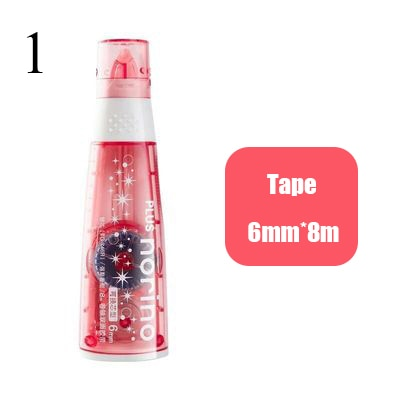 6mm*8m Cute Transparent Dot Glue Tape Decorative Double Sided Tape