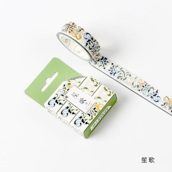 Totems Theme Foil  Scrapbooking Sticker Masking Paper Decoration Tape